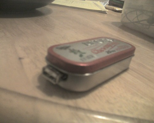 Altoids USB chager 2 | by gregms