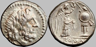 67/1 #9708-32 Anonymous Sicily Jupiter Victory trophy Victoriatus | by Ahala