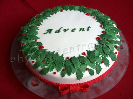 Ilex Advent Torte Tortenfiguren Flickr