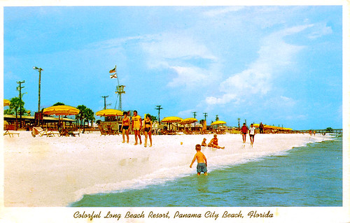 long beach  panama city  florida 1960s