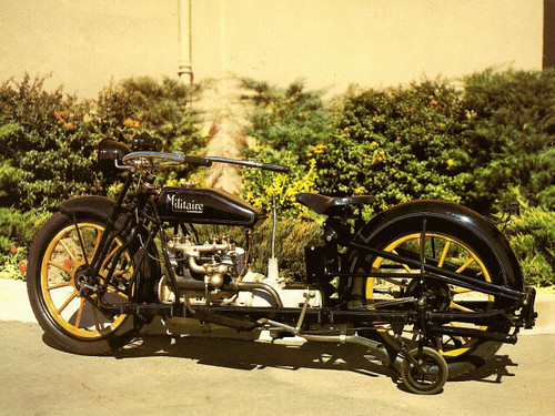 1915 Militaire Motorcycle - American motorcycle news and reviews