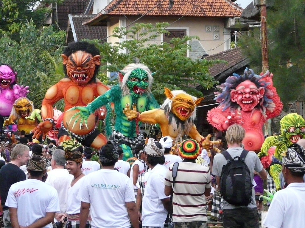 Image result for nyepi festival