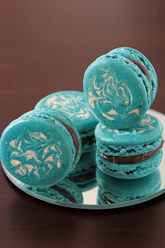 Swirly Macarons | by tartelette