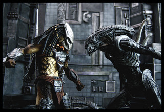 NECA Aliens vs Predator: Requiem - Wolf Predator vs Alien Warrior | by Ed Speir IV