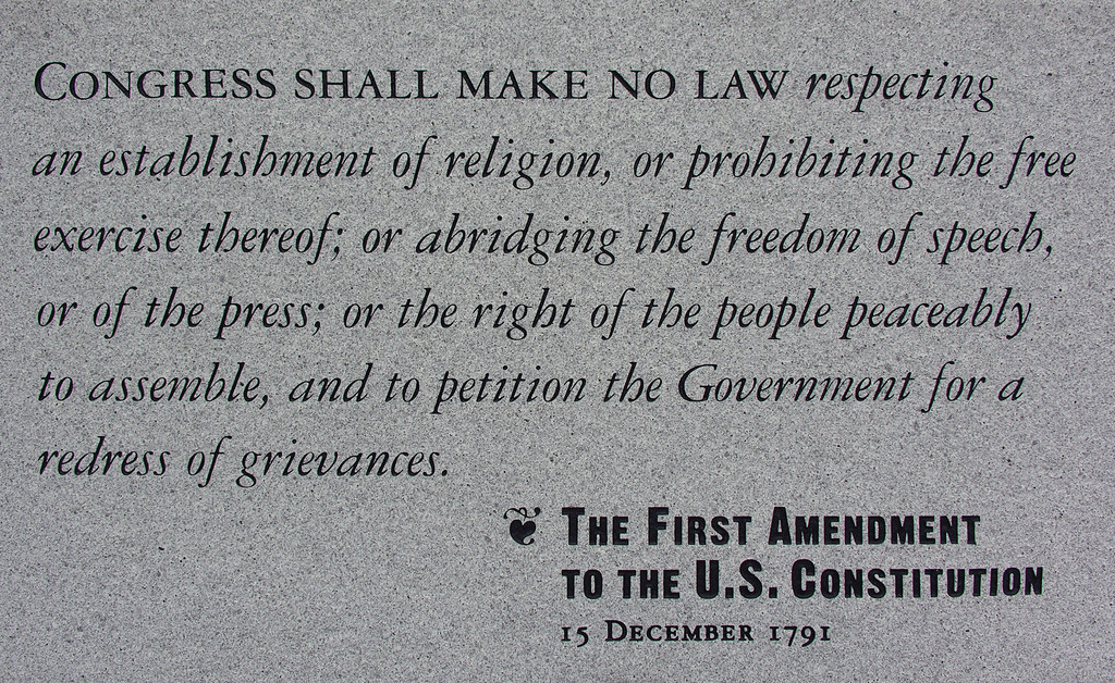 the first amendment this stone plaque guards the first am flickr the first amendment by euthman the first amendment by euthman
