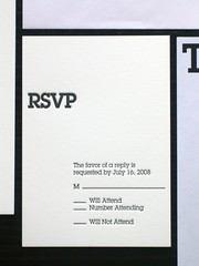 Baptism Invitation, RSVP & Table Card | by AisleOne