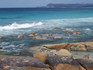 A beach in tasmania eastern coast | by Dawn Woodhouse