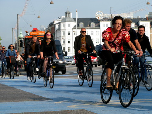 Bicycle Rush Hour Copenhagen - Summer | by Mikael Colville-Andersen