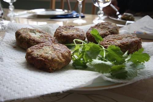 Zuchini Crab Cakes Receipe