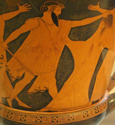 Egist Assassina Agam 232 Mnon Aegisthos Kills Agamemnon Flickr