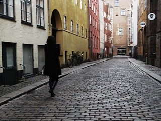 Alone on the Oldest Street in Town | by Mikael Colville-Andersen