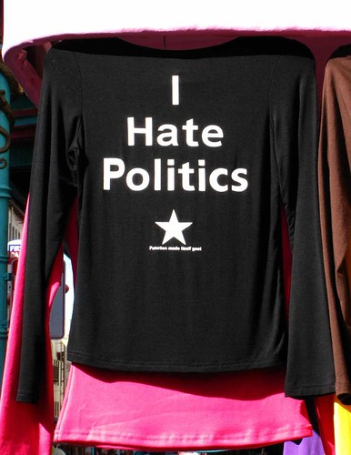 I hate politics | by jvumn
