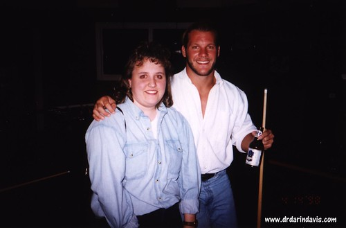 Deb with Chris Jericho | by drdarindavis