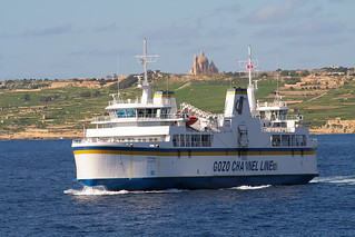 Ships that pass in the day; Gozo to Malta Ferry | by foxypar4