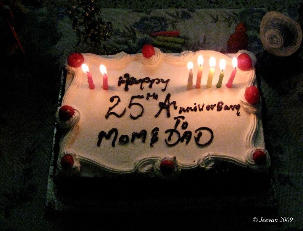 25th Wedding Anniversary Of My Parents