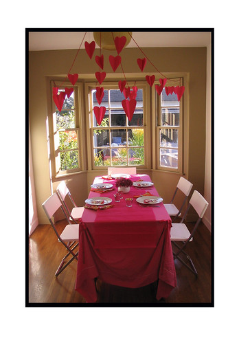 valentine's day in the dining room | by airdrome