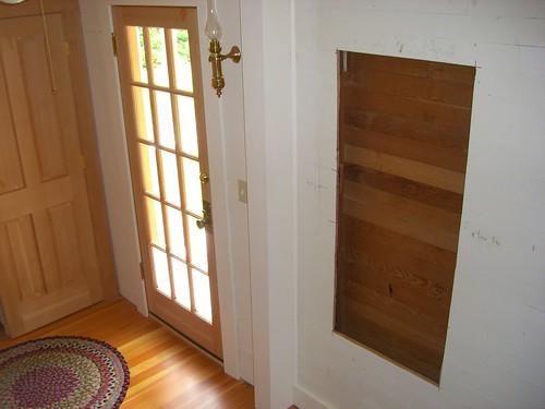Pantry Wall In U Shaped Kitchen Corner