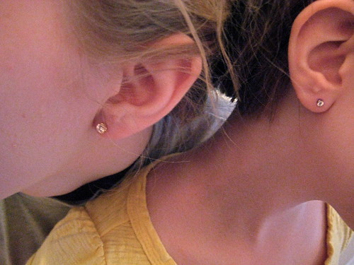 Pierced ears | by shareski