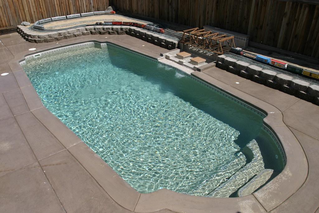 Viking Pools Santa Barbara Model Classic Inground Fiberglass Swimming Pool Flickr