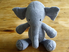 elephant (front view) | by knitfaced