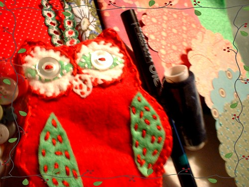 fabric addicts anonymous secret santa - sent | by Netta's Creations