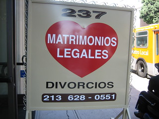 Matrimonies, Divorces... What's the difference in LA? | by vmiramontes