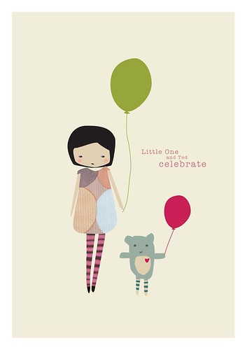 little one and ted celebrate | by my printspace