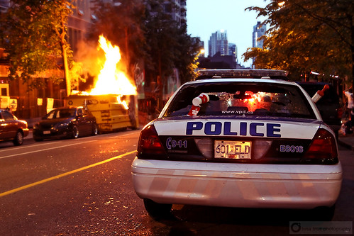 Vancouver Riot | by PiscesDreamer