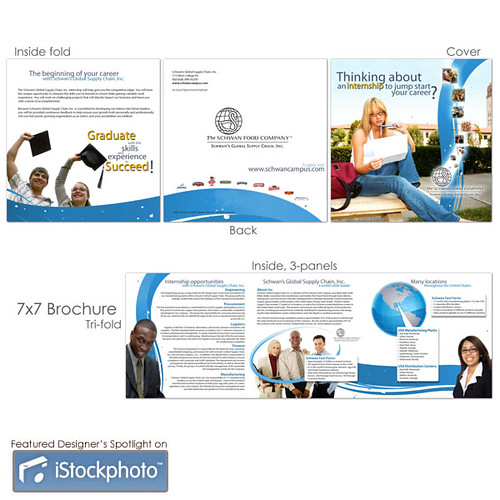 recruitment brochure for job fair corporate internship rec flickr