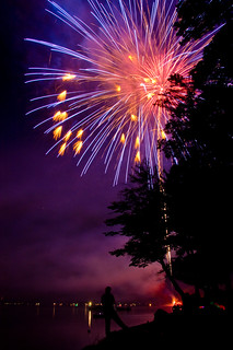 Fireworks at Otsego Lake | by Paladin27