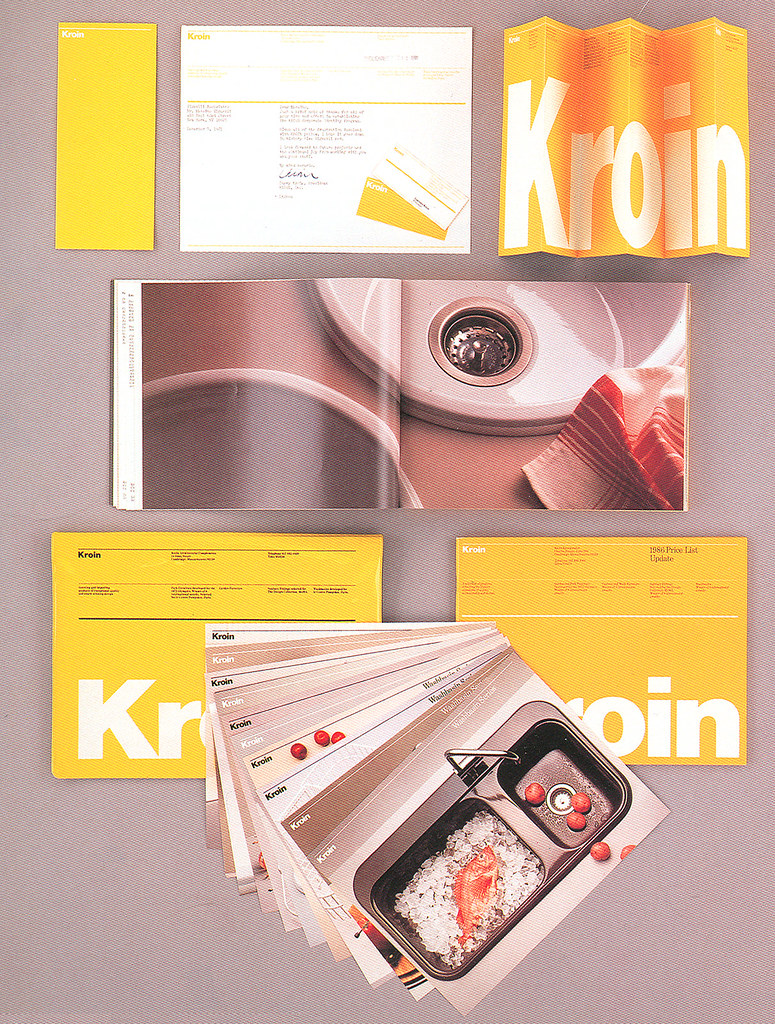 Massimo Vignelli Kroin Graphics Program | Previously called … | Flickr
