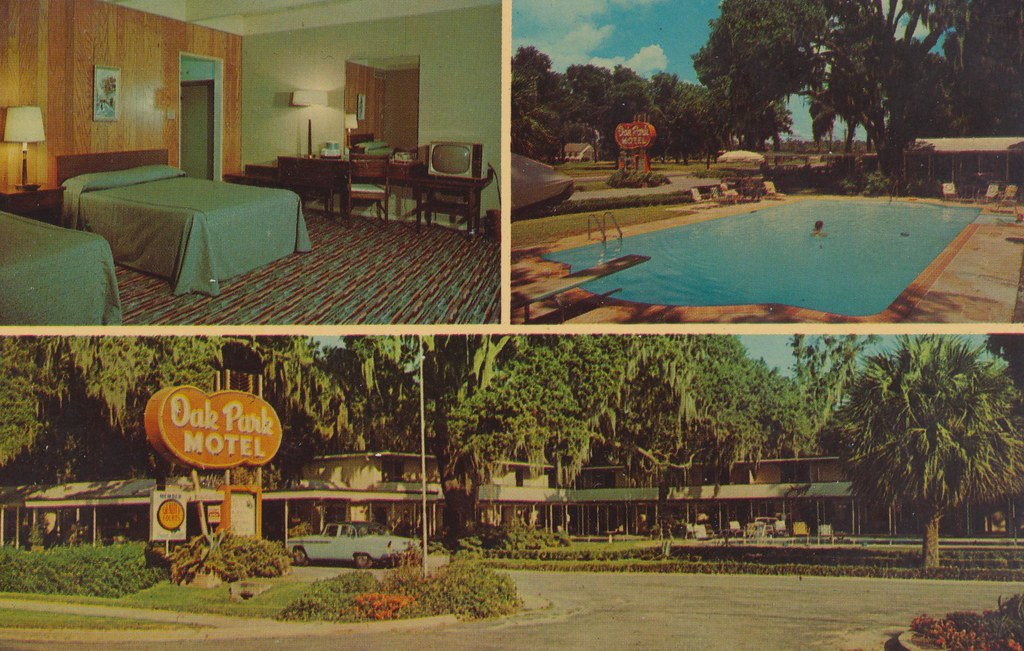 Oak Park Motel - Brunswick, Georgia