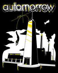 Automorrow Diver Tee Shirt | by Automorrow