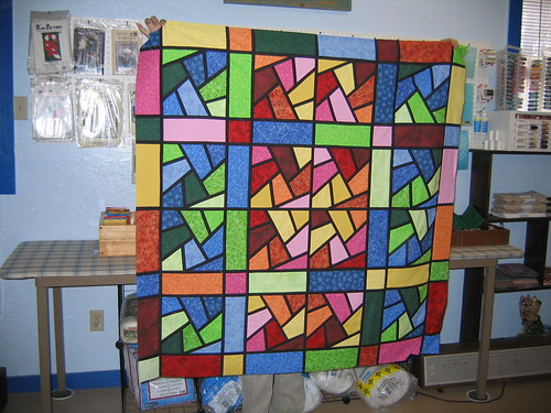 Stained Glass Quilt | by digitwiz1