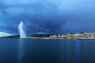 Geneva Blue Hour [Explore] | by Maria_Globetrotter