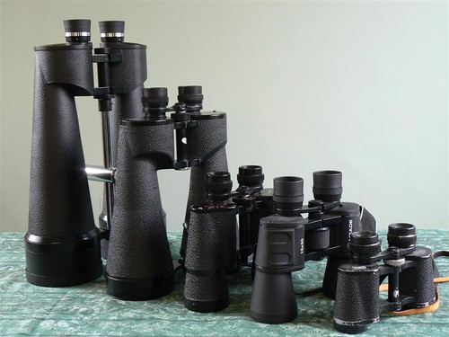 Binoculars - a working collection. | by jlcwalker