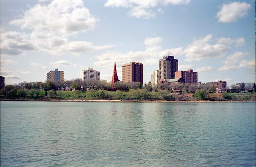 Saskatoon by the River, View from IRG 16 | by zemistor