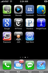 my iphone apps day 1 | by @MSG