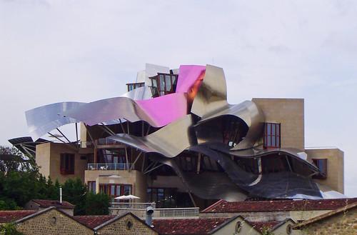 Hotel en bodegas marqu s de riscal el ciego lava spain for Hotel el ciego marques de riscal