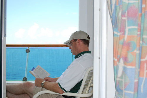 Reading on balcony our balcony on the explorer of the for On our balcony