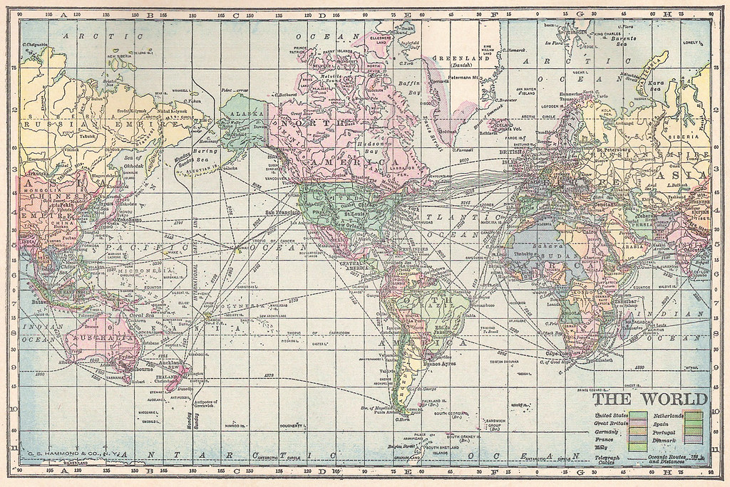 1911 world map public domain image of world map from page flickr 1911 world map by perpetualplum gumiabroncs Images