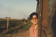 Eddie K on a September 1985 20th Century Railroad Club train excursion. | by Eddie from Chicago