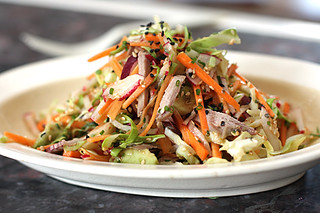 cole slaw with wasabi dressing | by David Lebovitz