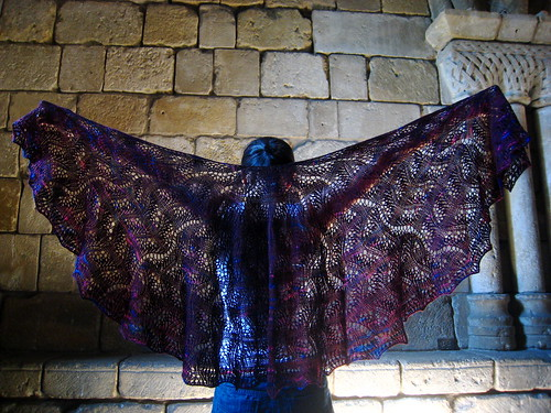 The Cloisters shawl | by baba lu