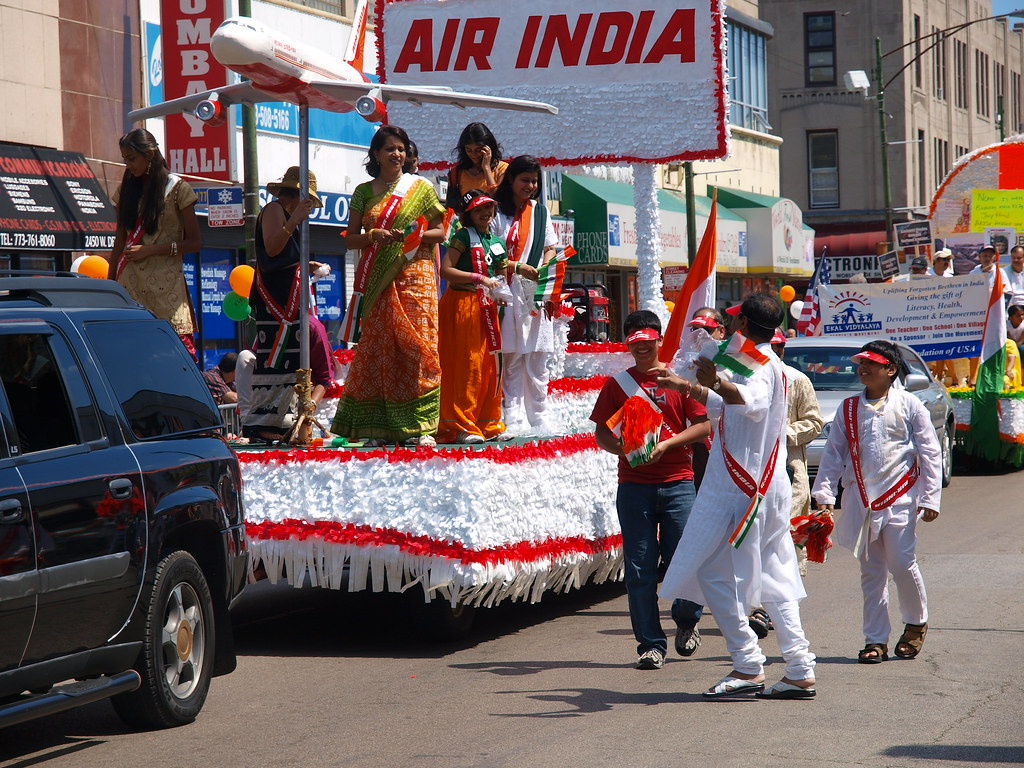 Image result for chicago indian independence day parade