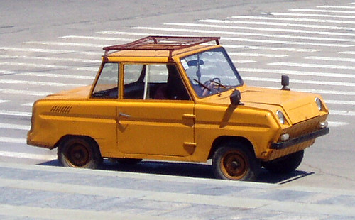 """С3Д"" or Invalidka, Soviet car for disabled people 