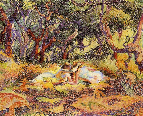 Cross, Henri Edmond (1856-1910) - 1906-07 The Forest | by RasMarley