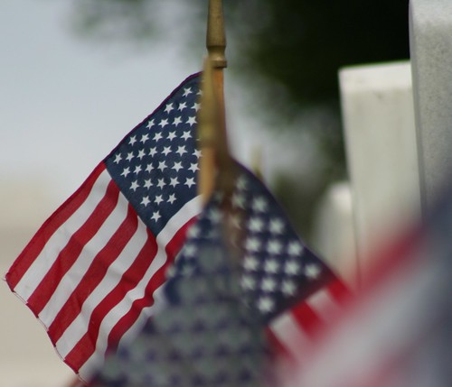 American Flags - Rosecrans National Cemetery | by sholden