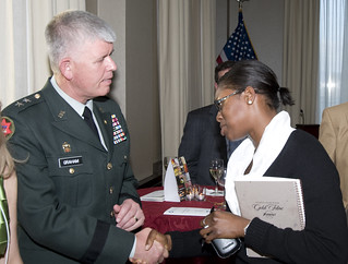 Major General Mark Graham and Mina Addo | by AFSP/SPAN USA