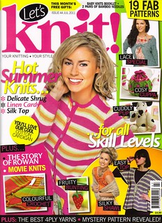 We've done it again! 'Let's Knit' Issue 44 July 2011. | by MRS TWINS/SIBOL 'Sunshine International Blankets